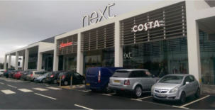 Next store complete at Selly Oak Shopping Park