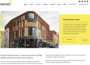 Bennetts debut new look website