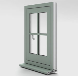 Universal Trade Frames has impressive Flush Casement Window offering