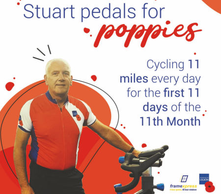 Stuart Pedals for Poppies