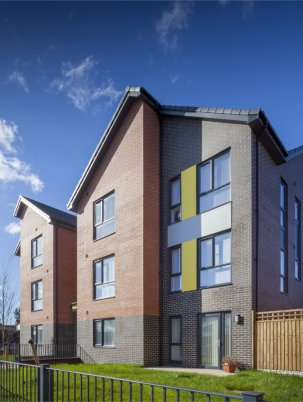 Social housing in Liverpool maximises thermal efficiency with Optima casement windows from Profile 22.