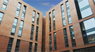 High quality student accommodation benefits from Optima windows