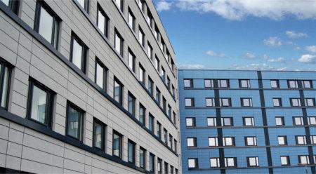 Optima Chamfered Windows help transform 1960s building into stylish modern housing