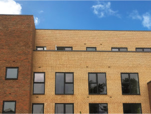 Profile 22's Optima Windows used in high quality retirement housing development