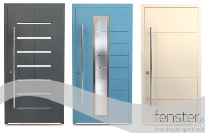 Installers get 'The Wow Factor' with Designer Doors from Fenster