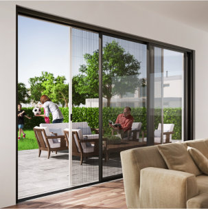 Privacy Screens for Wide-span Doors