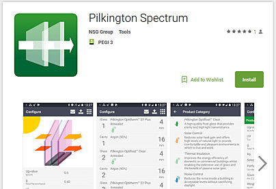 Pilkington spectrum now available for on-the-go use via new smartphone app