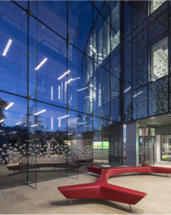 Structural glazing lends design flare to cutting-edge bioscience centre
