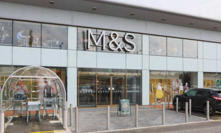 Pilkington Planar™ glazing welcomes customers to M&S store in the glass manufacturer's home town