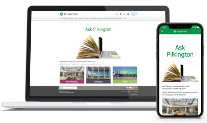 Pilkington Building Products - Manufacturer launches online 'glass-opedia' to answer customers' top queries