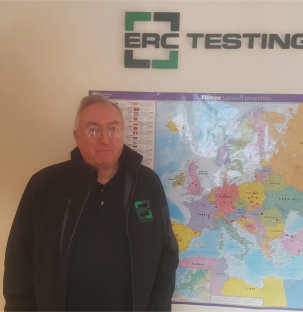 ERC Testing welcomes John Fradley to growing team